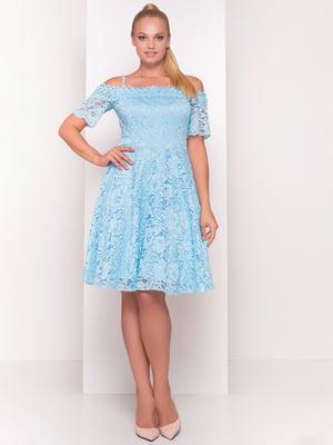 Сукня блакитна | 4384299