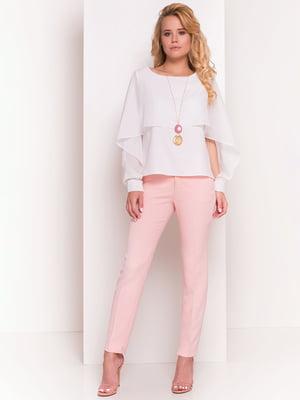 Блуза молочного кольору | 4384308