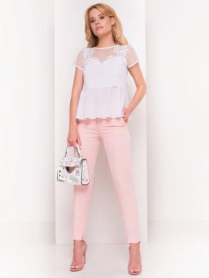 Блуза белая   4384361