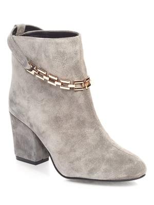 Ботинки серые | 4499327