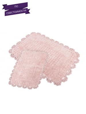 Набір килимків для ванної кімнати (2 шт.) | 3865782