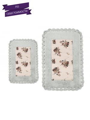 Набор ковриков для ванной (2 шт.)   4032993