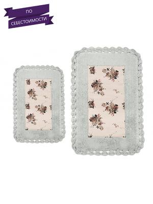Набор ковриков для ванной (2 шт.)   4033010