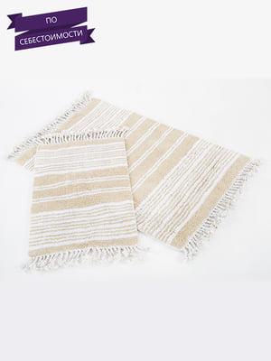 Набір килимків для ванної кімнати (2 шт.) | 4497446