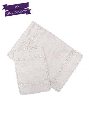 Набор ковриков для ванной (2 шт.) | 4497449