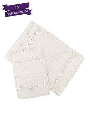 Набір килимків для ванної кімнати (2 шт.) | 4497450