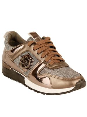 Кросівки золотисті | 4492213