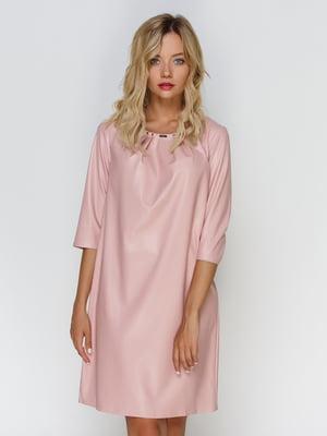 Сукня кольору пудри | 4520669