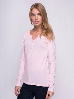 Лонгслів рожевий | 4518784