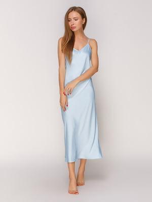 Сорочка нічна блакитна | 4519403