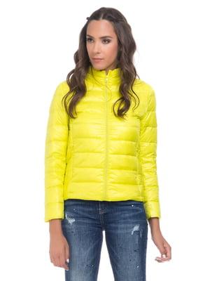 Куртка лимонного цвета | 4525915