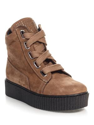 Ботинки коричневые | 4520849