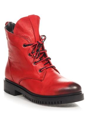 Ботинки красные | 4520841