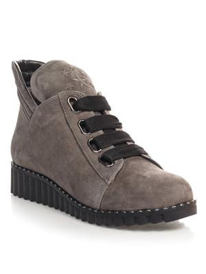 Ботинки серые   4520833