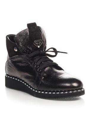 Ботинки черные   4520845