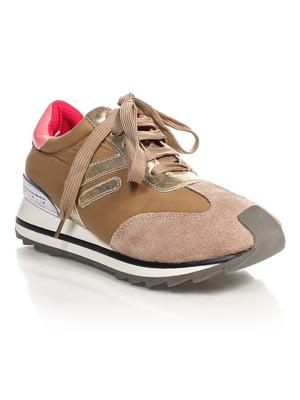 Кроссовки коричневые | 2706901