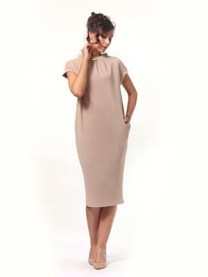 Сукня пісочного кольору | 4527608