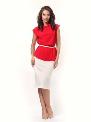Блуза красная   4527612