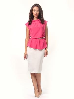 Блуза коралловая   4527613