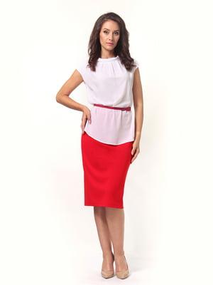 Блуза белая   4527616