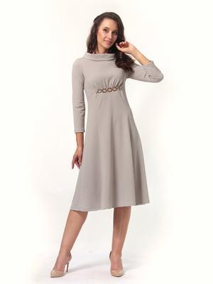 Платье серое | 4527628