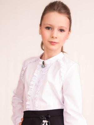 Блуза біла | 4389404