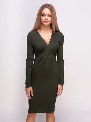 Платье цвета хаки   4523681