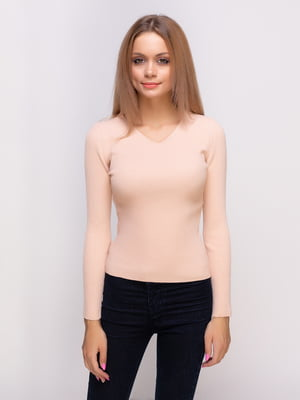 Пуловер розовый | 4523669