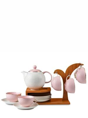 Набір чайний на підставці (13 предметів)   4530064
