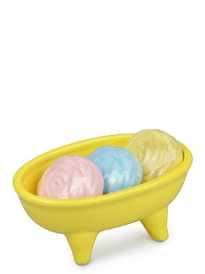 Мыльница с мылом (13,5х8,5 см) | 4530422