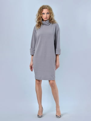 Платье серое   4529232