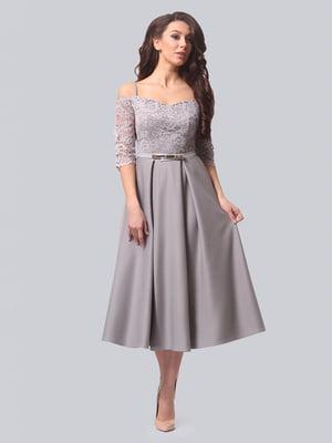 Платье серое | 4529334