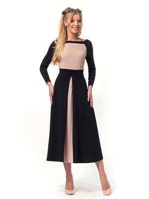 Платье двухцветное | 4529352