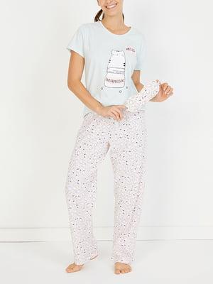 Піжама: футболка і штани   4519331