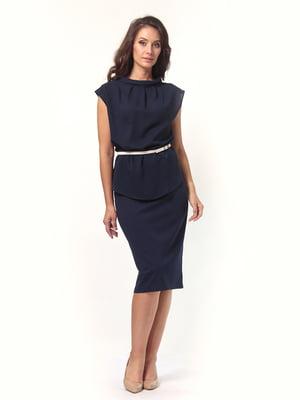 Блуза темно-синяя   4532509