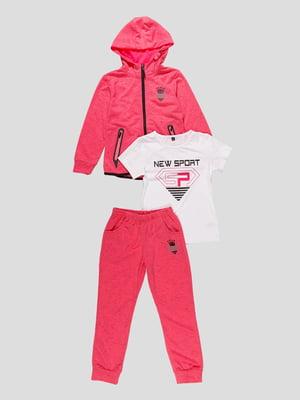 Комплект: кофта, футболка і штани   4531213