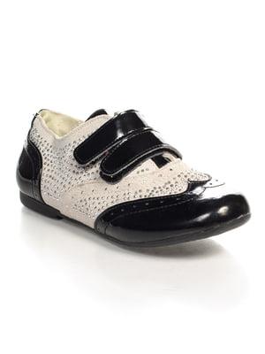 Туфлі чорно-сірі | 4408108