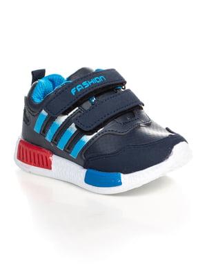 Кроссовки синие | 4402704
