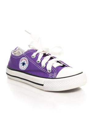 Кеды фиолетовые | 4402598