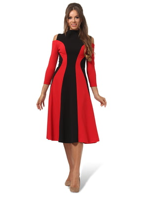 Платье двухцветное | 4535691