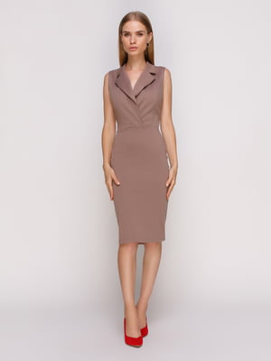 Сукня кольору капучино | 4530102