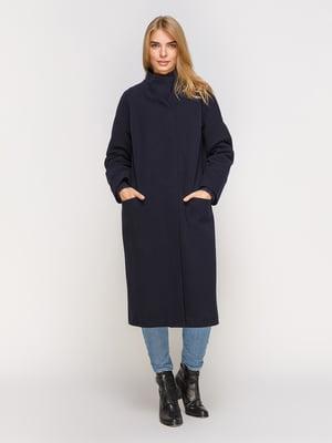 Пальто темно-синє | 4520394