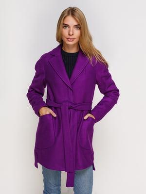 Пальто фиолетовое | 4520396