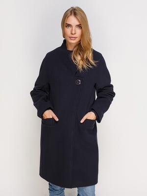 Пальто темно-синее | 4520395