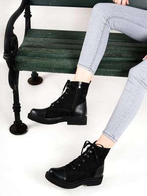 Ботинки черные | 4537425