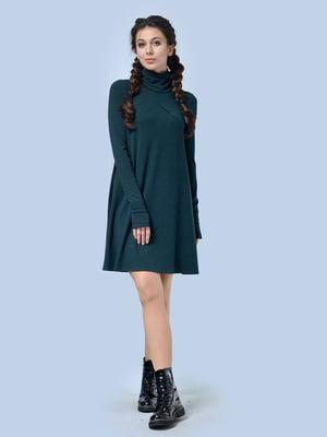 Платье темно-зеленое | 4535733