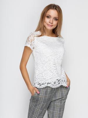Блуза молочного кольору | 4534737