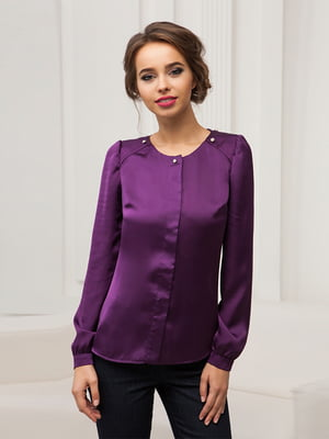 Блуза фиолетовая | 4538689