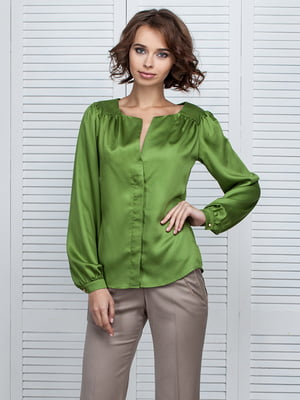 Блуза зелена | 4538695