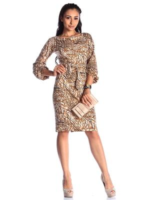 Платье в принт | 4538800